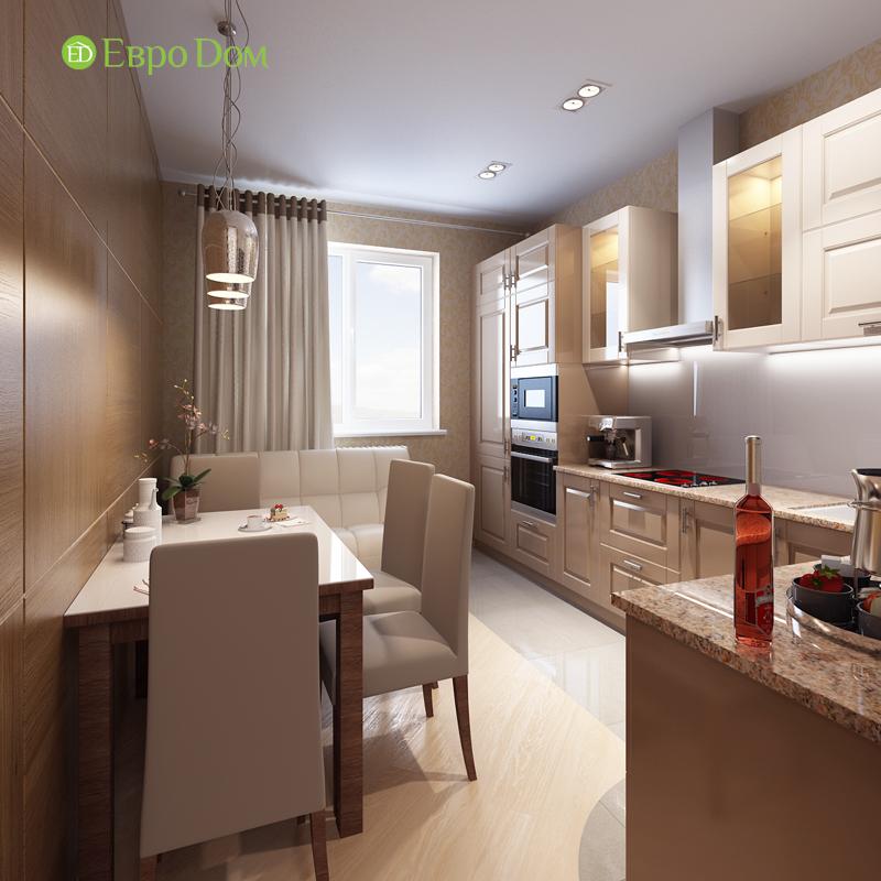Дизайн двухкомнатной квартиры 68 кв. м в современном стиле. Фото 03