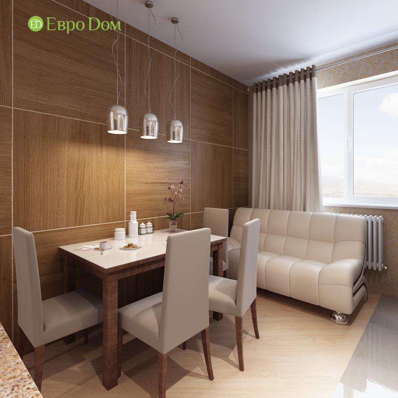 Дизайн двухкомнатной квартиры 68 кв. м в современном стиле. Фото 09