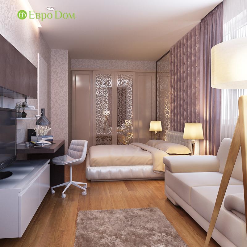 Дизайн двухкомнатной квартиры 68 кв. м в современном стиле. Фото 014