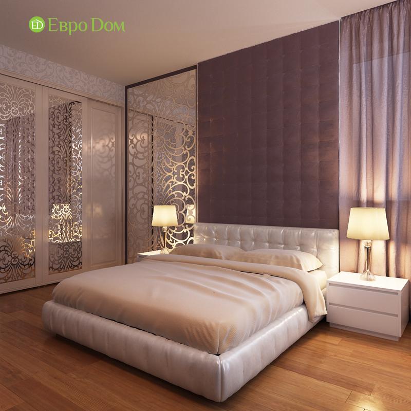 Дизайн двухкомнатной квартиры 68 кв. м в современном стиле. Фото 015