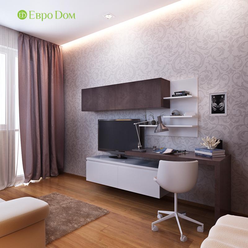 Дизайн двухкомнатной квартиры 68 кв. м в современном стиле. Фото 016