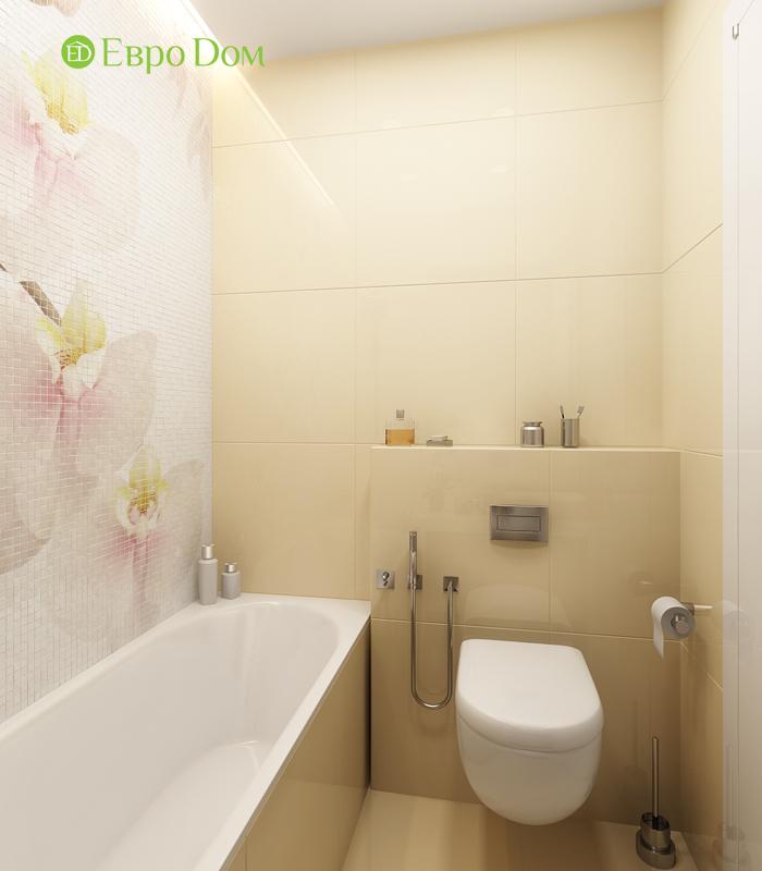 Дизайн двухкомнатной квартиры 68 кв. м в современном стиле. Фото 019