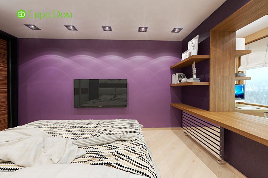 Дизайн двухкомнатной квартиры 65 кв. м в современном стиле. Фото 08
