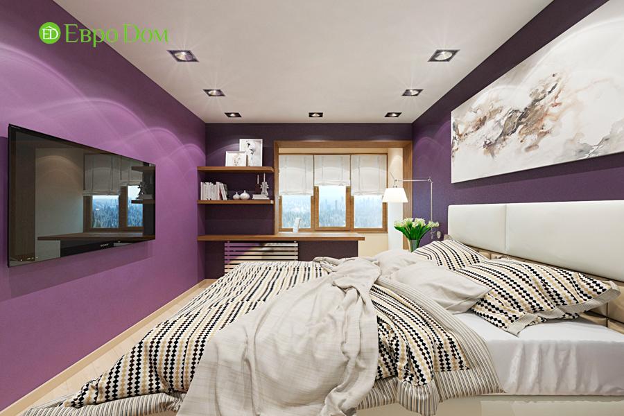 Дизайн двухкомнатной квартиры 65 кв. м в современном стиле. Фото 09