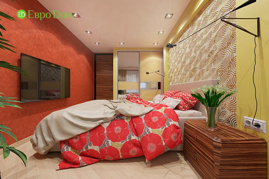 Дизайн двухкомнатной квартиры 65 кв. м в современном стиле. Фото 012