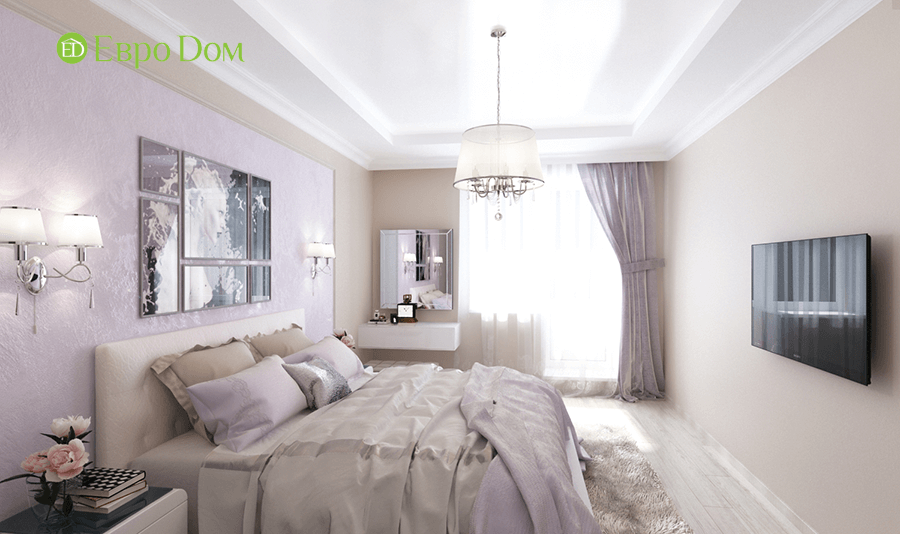 Дизайн интерьера 2-комнатной квартиры 77 кв. м в современном стиле. Фото 02