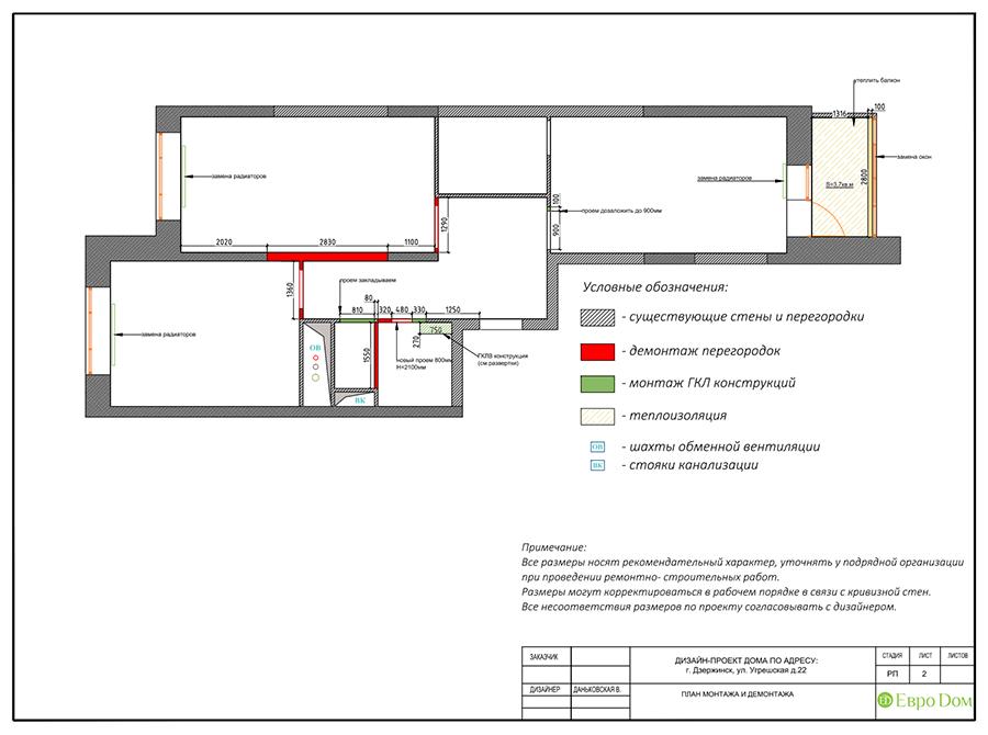 Дизайн интерьера 2-комнатной квартиры 77 кв. м в современном стиле. Фото 012