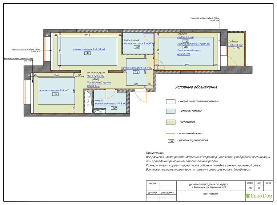 Дизайн интерьера 2-комнатной квартиры 77 кв. м в современном стиле. Фото 022