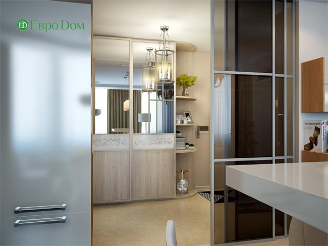 Дизайн двухкомнатной квартиры 80 кв. м в современном стиле. Фото 04