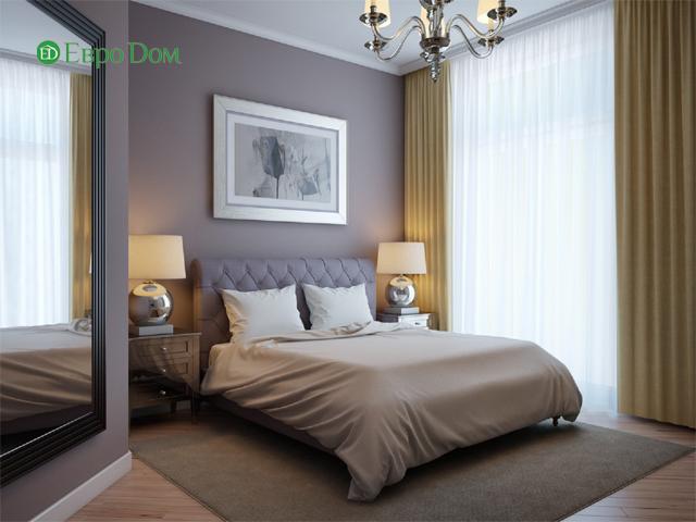 Дизайн двухкомнатной квартиры 80 кв. м в современном стиле. Фото 012