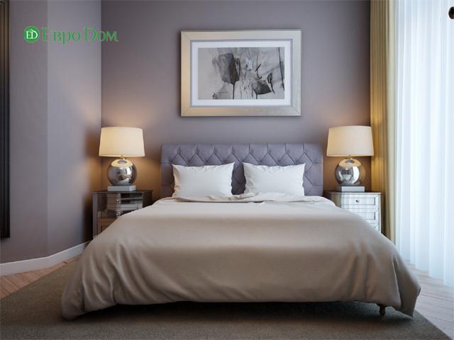 Дизайн двухкомнатной квартиры 80 кв. м в современном стиле. Фото 013
