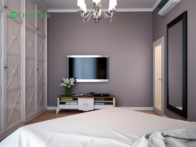 Дизайн двухкомнатной квартиры 80 кв. м в современном стиле. Фото 014