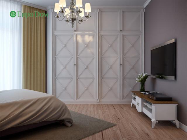 Дизайн двухкомнатной квартиры 80 кв. м в современном стиле. Фото 015