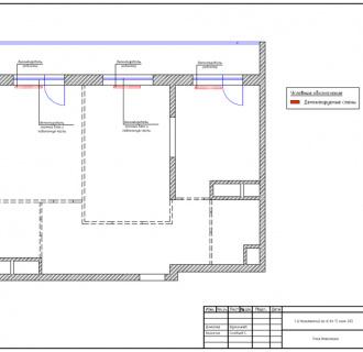 Дизайн двухкомнатной квартиры 85 кв. м в современном стиле. Фото проекта