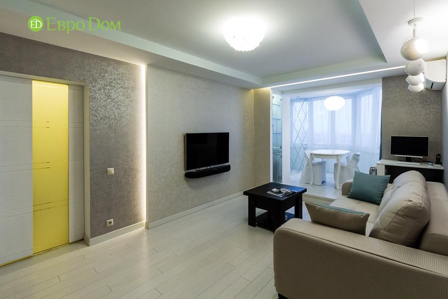Дизайн двухкомнатной квартиры 77 кв. м в современном стиле. Фото 03