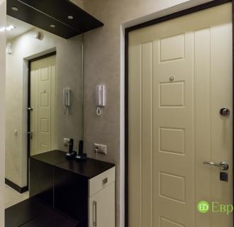 Ремонт двухкомнатной квартиры 77 кв. м в современном стиле. Фото проекта