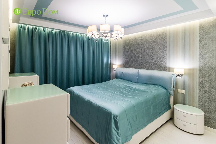 Дизайн двухкомнатной квартиры 77 кв. м в современном стиле. Фото 011