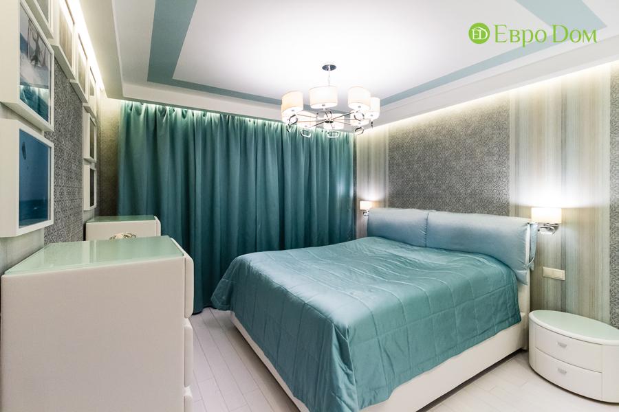 Дизайн двухкомнатной квартиры 77 кв. м в современном стиле. Фото 014