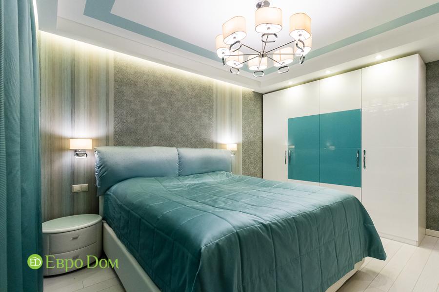 Дизайн двухкомнатной квартиры 77 кв. м в современном стиле. Фото 015