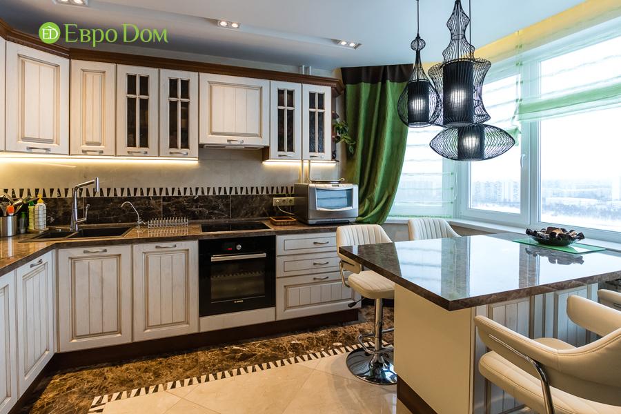 Дизайн двухкомнатной квартиры 77 кв. м в современном стиле. Фото 023