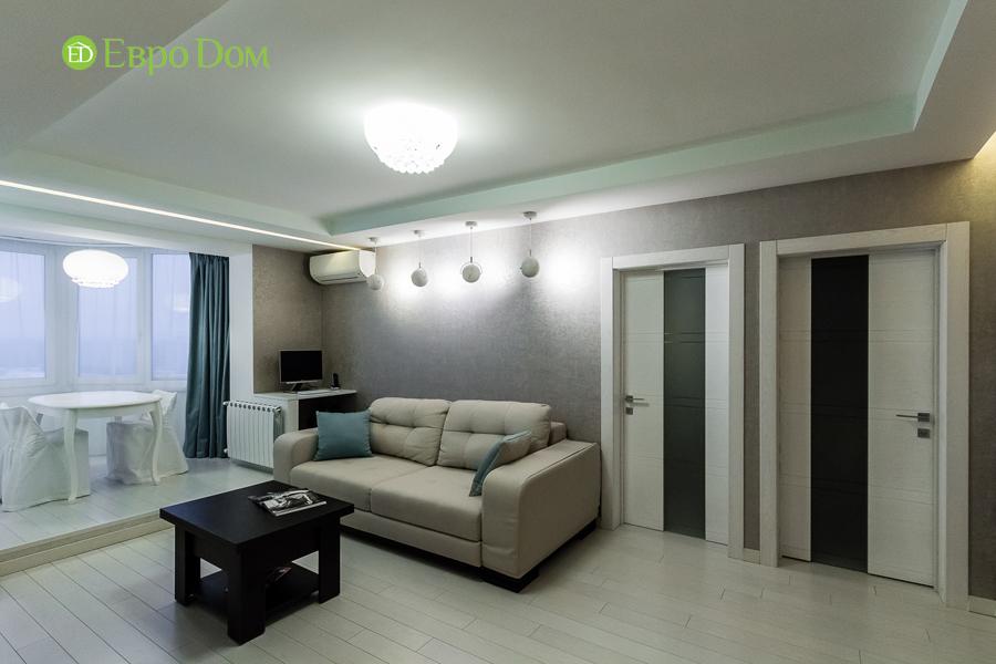 Дизайн двухкомнатной квартиры 77 кв. м в современном стиле. Фото 025