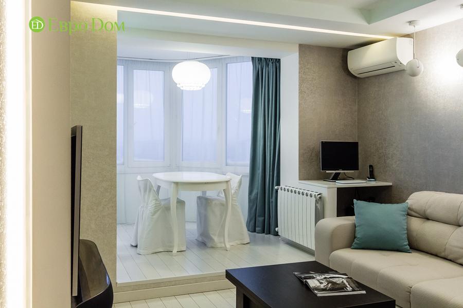 Дизайн двухкомнатной квартиры 77 кв. м в современном стиле. Фото 027