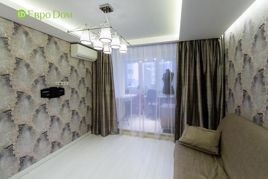 Дизайн двухкомнатной квартиры 77 кв. м в современном стиле. Фото 030
