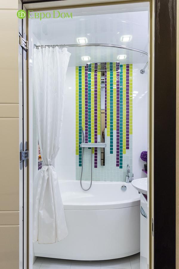 Дизайн двухкомнатной квартиры 77 кв. м в современном стиле. Фото 033