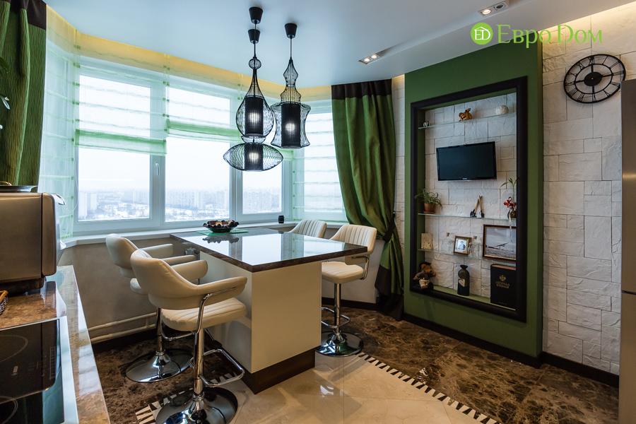 Дизайн двухкомнатной квартиры 77 кв. м в современном стиле. Фото 037