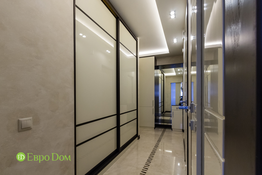 Дизайн двухкомнатной квартиры 77 кв. м в современном стиле. Фото 038