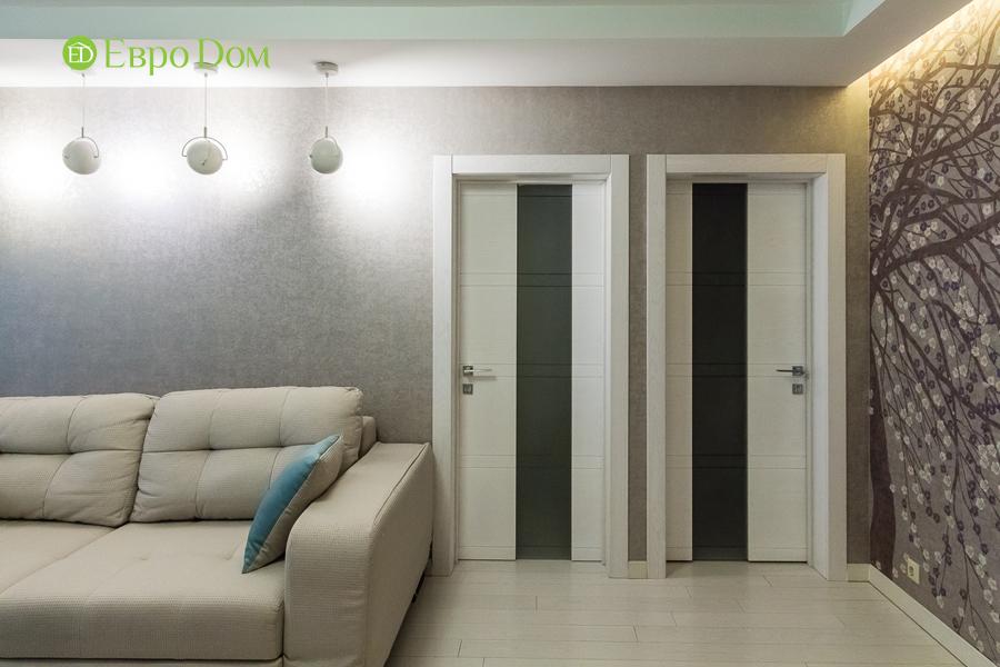 Дизайн двухкомнатной квартиры 77 кв. м в современном стиле. Фото 039