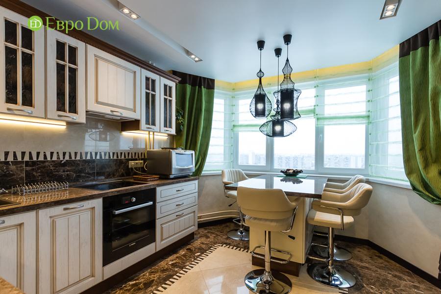 Дизайн двухкомнатной квартиры 77 кв. м в современном стиле. Фото 045