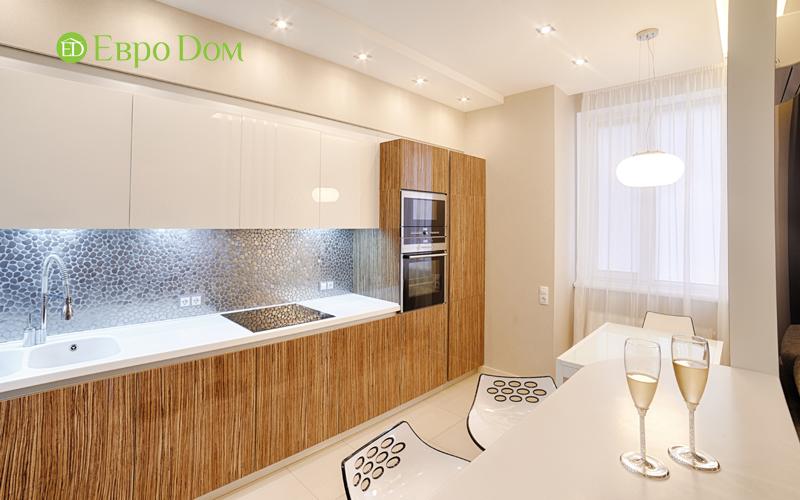 Дизайн двухкомнатной квартиры в современном стиле. Фото 05