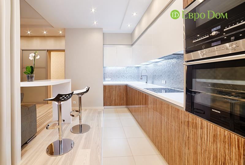 Дизайн двухкомнатной квартиры в современном стиле. Фото 06