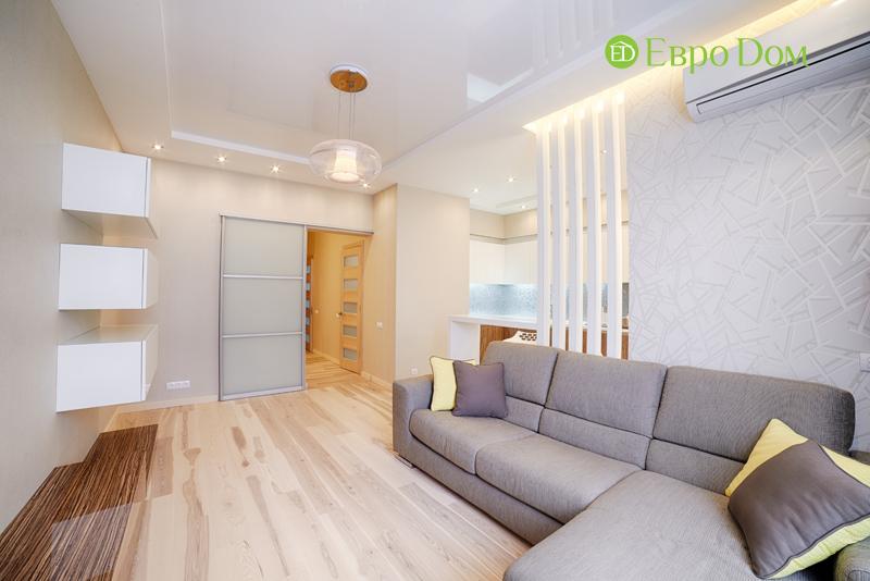 Дизайн двухкомнатной квартиры в современном стиле. Фото 08