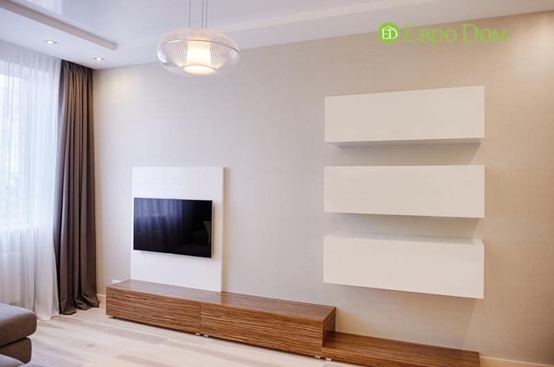 Дизайн двухкомнатной квартиры в современном стиле. Фото 011