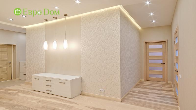 Дизайн двухкомнатной квартиры в современном стиле. Фото 012