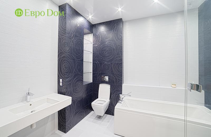 Дизайн двухкомнатной квартиры в современном стиле. Фото 013