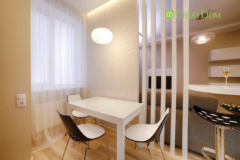 Дизайн двухкомнатной квартиры в современном стиле. Фото 016