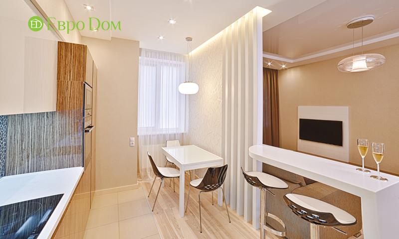 Дизайн двухкомнатной квартиры в современном стиле. Фото 017