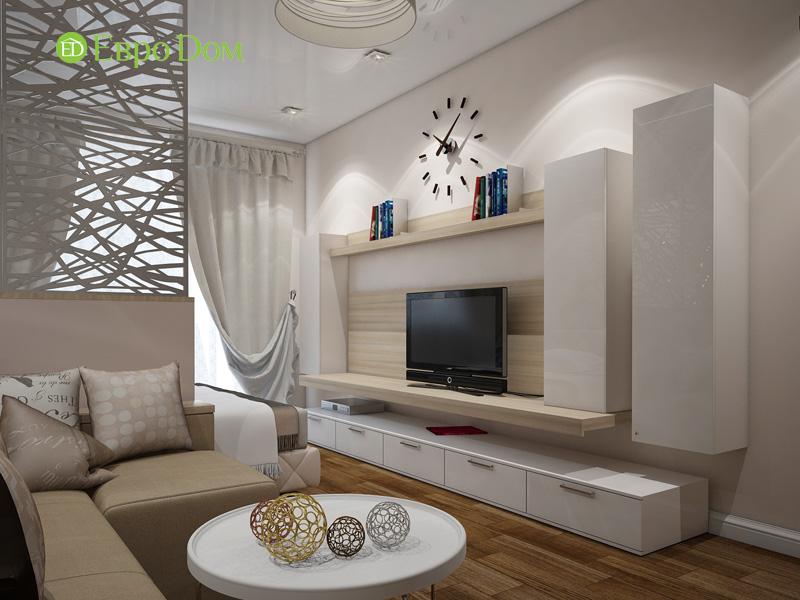 Дизайн двухкомнатной квартиры 66 кв. м в стиле контемпорари. Фото 06