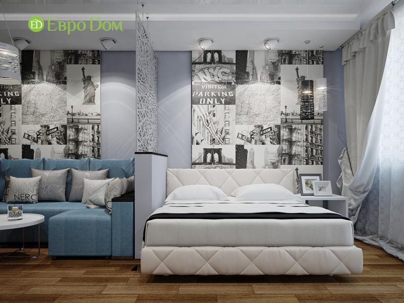 Дизайн двухкомнатной квартиры 66 кв. м в стиле контемпорари. Фото 08