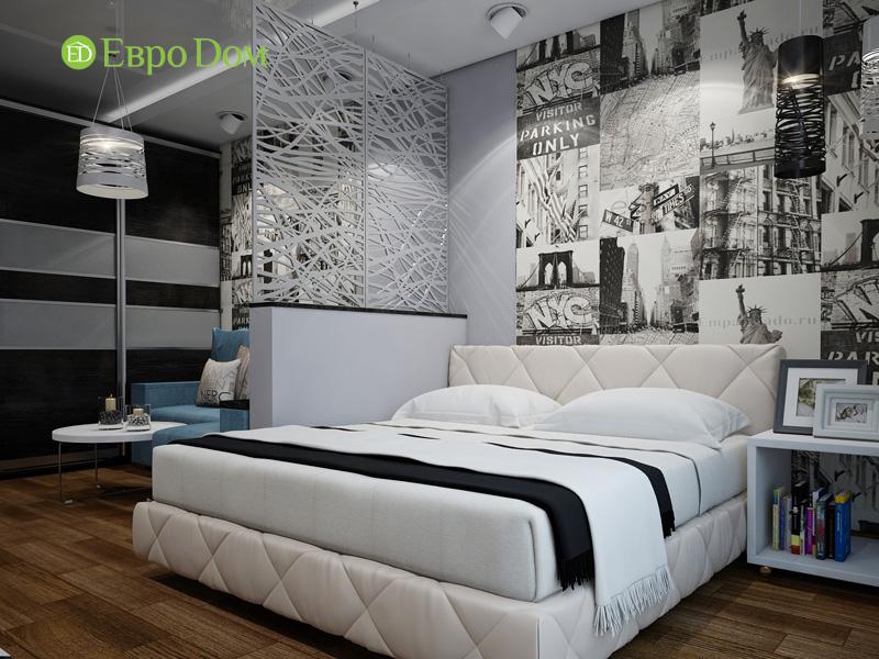 Дизайн двухкомнатной квартиры 66 кв. м в стиле контемпорари. Фото 010