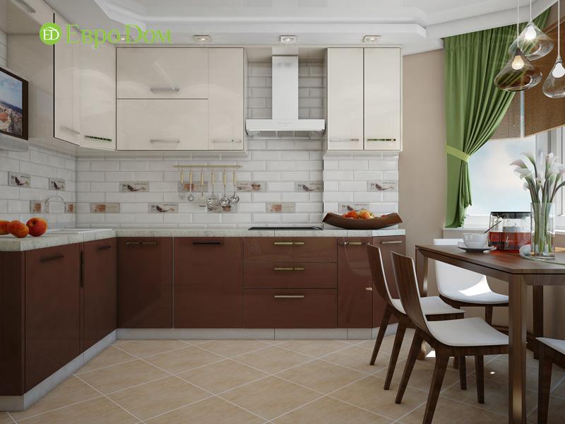 Дизайн двухкомнатной квартиры 66 кв. м в стиле контемпорари. Фото 011