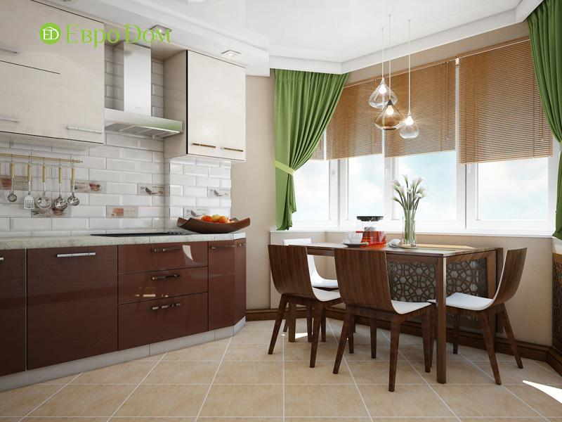 Дизайн двухкомнатной квартиры 66 кв. м в стиле контемпорари. Фото 012