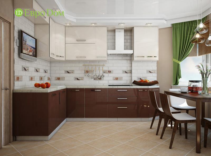 Дизайн двухкомнатной квартиры 66 кв. м в стиле контемпорари. Фото 013