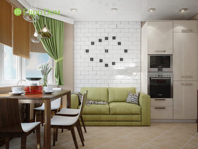 Дизайн двухкомнатной квартиры 66 кв. м в стиле контемпорари. Фото 014