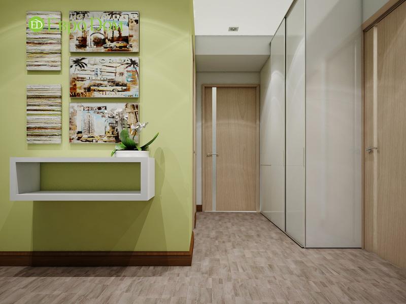 Дизайн двухкомнатной квартиры 66 кв. м в стиле контемпорари. Фото 015