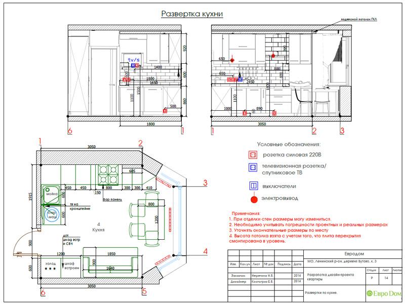 Дизайн двухкомнатной квартиры 66 кв. м в стиле контемпорари. Фото 031