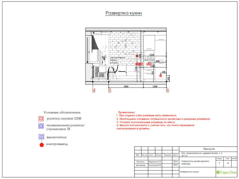 Дизайн двухкомнатной квартиры 66 кв. м в стиле контемпорари. Фото 032